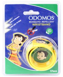 Dabur Odomos Mosquito Repellent Wrist Band Yellow - 1 Piece