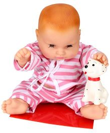 Speedage Cute Baby Doll With Pet