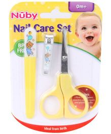 Nuby Nail Care Set - Yellow