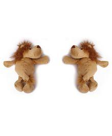 Curtain Holder Lion Soft Toy - Brown