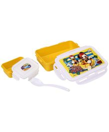 Disney Mickey Mouse And Friends Lunch Box - Yellow