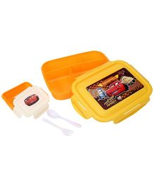 Disney Pixar Cars Lunch Box - Orange And Yellow