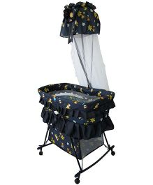 Polly's Pet Baby Bassinet BC219 - Blue