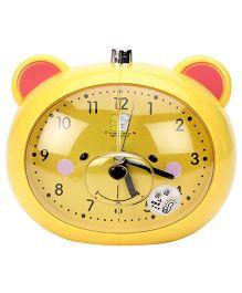 Alarm Clock Bear Design - Yellow