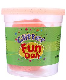 Funskool Fun Doh Glitter Dough - Orange