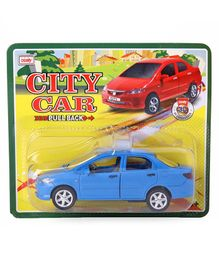 Centy City Car With Pull Back Action - Blue