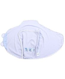 The First Years Swaddle Wrappers Set Of 2 - Blue And White