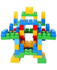 Mega Bloks First Builders Big Building Bag Multicolour - 80 Pieces