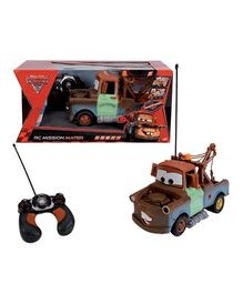 Disney Pixar Cars - RC Mission Mater 1:16  Radio Controlled Car