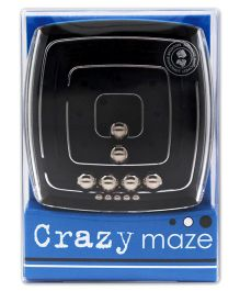 Mufubu Crazy Mazes Squares - Silver And Black