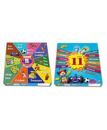 Prasima Toys 11 Board Games Pack - Multicolor