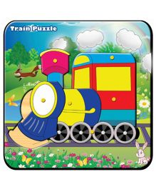 Prasima Toys Train Puzzle Set - Multicolor