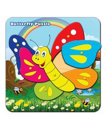 Prasima Toys Butterfly Puzzle Set - Multicolor