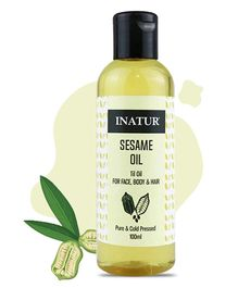 Inatur Sesame Oil - 100 ml