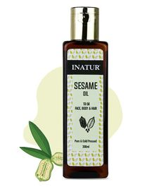 Inatur Sesame Oil - 200 ml