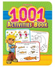1001 Activities Book - English