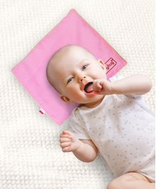 Babyhug Rai (Mustard) Seed Filling Pillow Rectangle Shape Pink - 1 Kg Rai Seeds