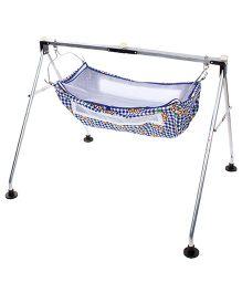 New Natraj Porta Baby Cradle - Blue