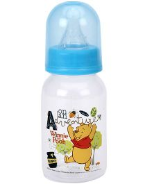 Disney Polypropylene Feeding Bottle Blue - 4 Oz
