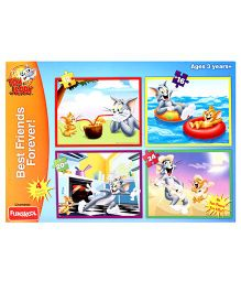 MGM Tom And Jerry Best Friends Forever Puzzle Set