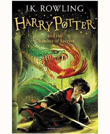 Harry Potter And The Chamber of Secrets New Jacket - English