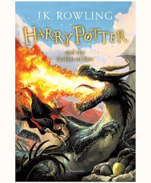 Harry Potter and the Goblet of Fire New Jacket - English