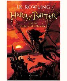 Harry Potter and the Order of the Phoenix New Jacket - English
