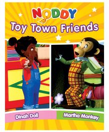 Noddy Toy Town Friends Dinah Doll And Martha Monkey - English
