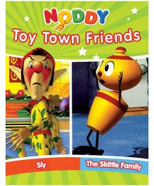 Noddy Toy Town Friends Sly And The Skittle Family Story Book - English