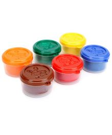 Artline Modelling Dough Set Of 6 - Multi Color