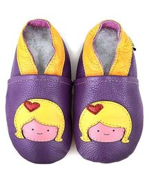 Augusta Baby Purple Blonde Girl Shoes