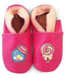 Augusta Baby Pink Candy Shoes