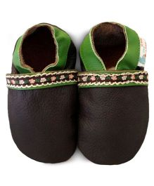 Augusta Baby Green Suede Shoes
