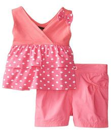 ABS by Allen Schwartz Polka Dot 2 Piece Set