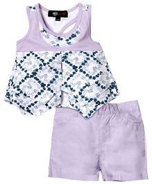 ABS by Allen Schwartz Printed 2 Piece Set