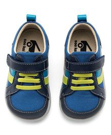 See Kai Run Blue Leather Trainer