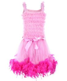 Wenchoice Feather Ruffled Tutu Dress