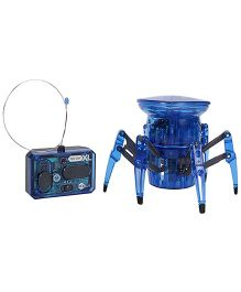 Hexbug Spider Robotic Creature With 7 Way Radio Control - Blue