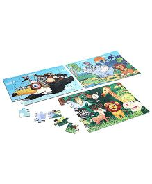 Yash Toys Jigsaw Puzzle Animals Cartoon - 120 Pieces