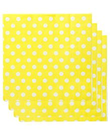 Smartcraft Paper Napkins Polka Dot Print 20 Pieces - Yellow