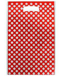 Partymanao Bag Polka Dot Print - Red