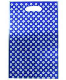 Partymanao Bag Polka Dot Print - Dark Blue