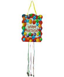 Partymanao Happy Birthday Pinata Balloons Print