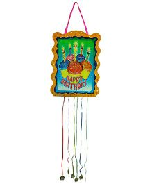 Partymanao Happy Birthday Pinata Cup Cakes Print