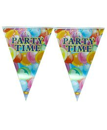 Partymanao Flag Banner Party Time Theme