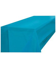 Partymanao Plastic Table Cover - Blue