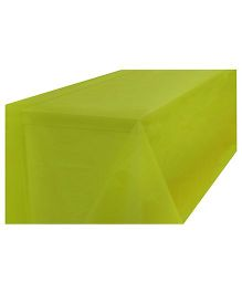 Partymanao Plastic Table Cover - Yellow