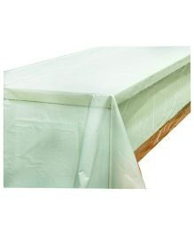 Partymanao Plastic Table Cover - White