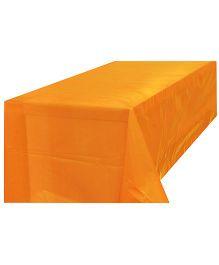 Partymanao Plastic Table Cover - Orange
