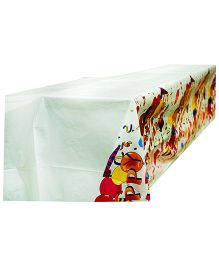 Partymanao Plastic Table Cover Celebrations Theme